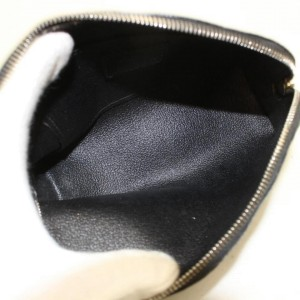 Louis Vuitton Epi Electric Noir Black Cosmetic Pouch Pochette Cosmetique 869207