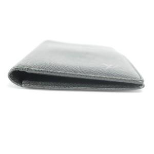 Louis Vuitton Black Taiga James Brazza Wallet Bifold Long Flap 5LK1210