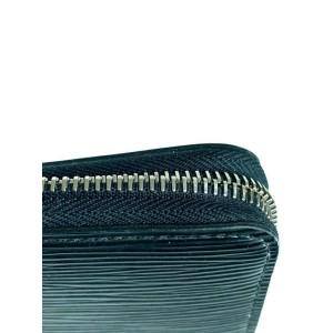 Louis Vuitton Black Epi Noir Long Zippy Wallet 9lva623