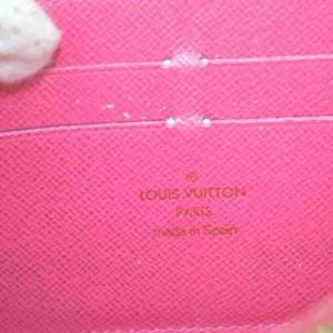 Louis Vuitton Black Multicolor Noir Long Zippy Wallet Zip Around 860204