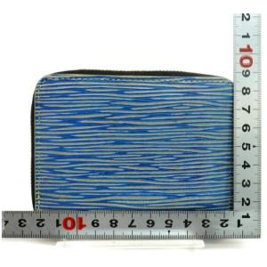 Louis Vuitton Denim Epi Zippy Coin Purse Compact Wallet 872715