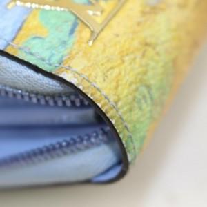 Louis Vuitton Jeff Koons Icons Van Gogh Zippy Wallet Zip Around   862663