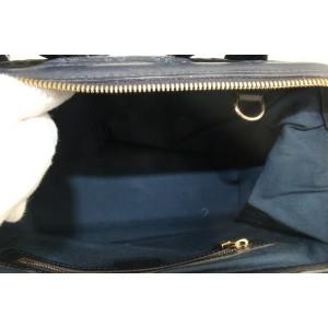 Louis Vuitton Navy Blue Monogram Mini Lin Josephine PM Boston Bag 296lvs513
