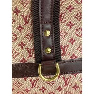 Louis Vuitton Bordeaux Monogram Mini Lin Josephine GM Speedy Boston Bag 861920