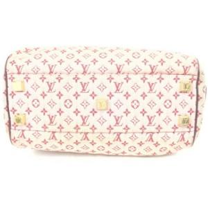 Louis Vuitton Burgundy Monogram Mini Lin Josephine PM Speedy Boston Bag 861776