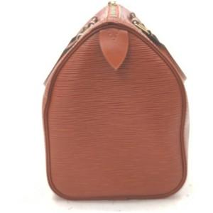 Louis Vuitton Brown Epi Leather Speedy 25 Boston Bag 862309