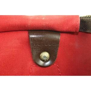 Louis Vuitton Damier Ebene Speedy 30 Boston Bag