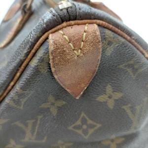 Louis Vuitton Monogram Speedy 30 Boston Bag 863165