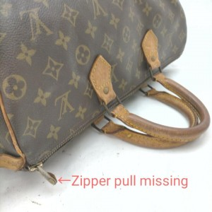 Louis Vuitton Monogram Speedy 35 Boston Bag MM  862020