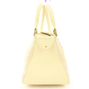 Louis Vuitton Pink Monogram Rose Mini Lin Trapeze PM Speedy Boston Bag 645lvs317