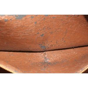 Louis Vuitton Monogram Boulogne 35 Zip Hobo Bag 338lvs224