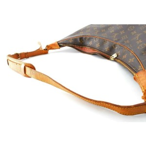 Louis Vuitton Monogram Boulogne 35 Zip Hobo GM 861031