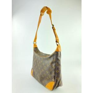 Louis Vuitton Monogram Boulogne Zip Hobo 35lva1117