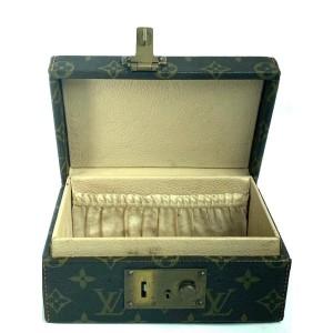 Louis Vuitton Monogram Boite a Tout Jewelry Box Case Hard Trunk 6la523