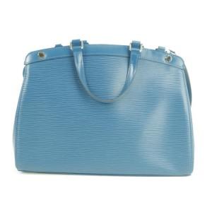 Louis Vuitton Blue Epi Brea 2way 34LVTY51717