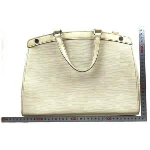 Louis Vuitton Ivoire White Epi Leather Brea MM with Strap 862025