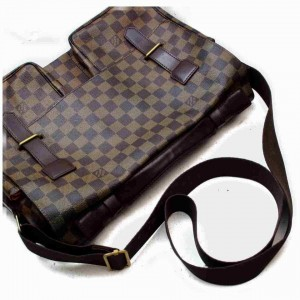 Louis Vuitton Damier Ebene Broadway Messegner Briefcase Attache 860286