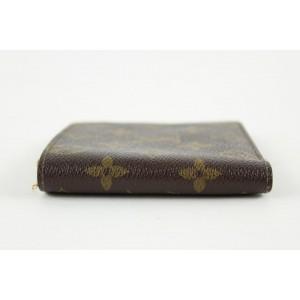 Louis Vuitton Monogram Slender Multiple Marco Florin Men's Bifold Wallet 12lvs1223