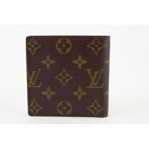 Louis Vuitton Monogram Slender Multiple Florin Marco Men's Bifold Wallet 14lvs1223