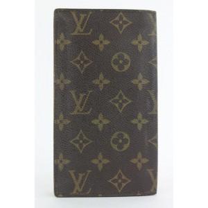 Louis Vuitton Vintage Metal Accent Bifold Flap Wallet 14lvs18