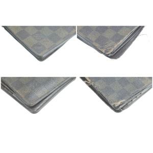 Louis Vuitton 19LK0120 Damier Ebene Bifold Men's Wallet