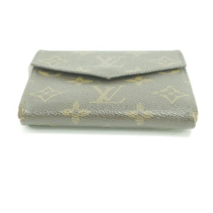 Louis Vuitton 24LK0110 Monogram Elipse Snap Compact Wallet