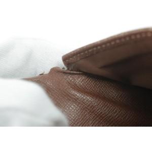 Louis Vuitton Brown 25lk0121 Wallet