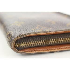 Louis Vuitton  Monogram Long Zippy Wallet 269lvs216