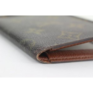 Louis Vuitton Monogram Card Holder Wallet case 2lvs111