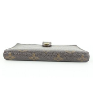 Louis Vuitton Monogram Small Ring Agneda PM Diary Cover 544lvs310