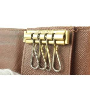 Louis Vuitton Monogram Multicles 4 Key Holder Wallet Case 8lk0122