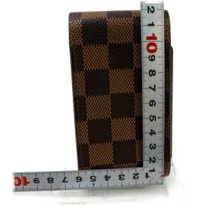 Louis Vuitton Damier Ebene Cigarette Case Mobile Etui 861228