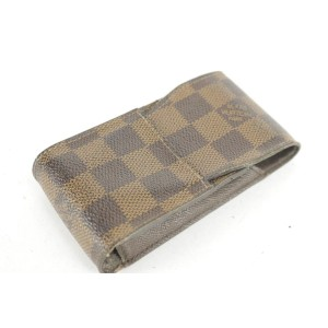 Louis Vuitton Damier Ebene Mobile Etui Phone and Cigarette Case 5LK1221