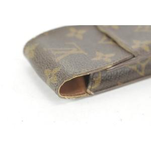 Louis Vuitton Monogram Etui Mobile or Cigarette Case Pouch 2LK1221