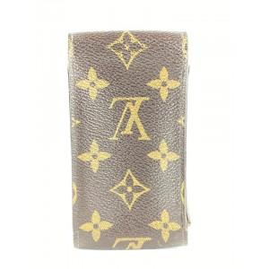 Louis Vuitton Monogram Cigarette Case Monogram Etui Mobile 49LVa1117