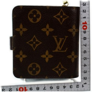 Louis Vuitton Compact Zip Wallet Bellboy Groom Monogram 872483