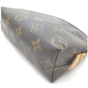 Louis Vuitton Monogram Cosmetic Pouch Make Up Case 861961