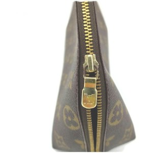 Louis Vuitton Monogram  Cosmetic Pouch GM  Trousse Demi Ronde 862382