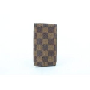 Louis Vuitton Damier Ebene Mobile Etui Cigarette or Phone Case 12lz1002