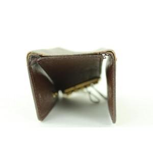 Louis Vuitton Damier Ebene Multicles 4 Key Holder Wallet case 348lvs520