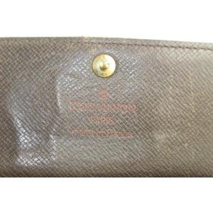 Louis Vuitton Damier Ebene Multicles 6 Key Holder Wallet Case 4LD0123