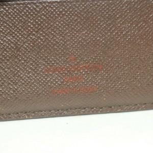 Louis Vuitton Damier Ebene Portefeuille Marco Men's Bifold Wallet 871384