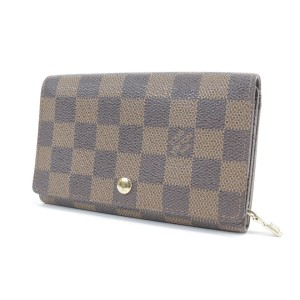 Louis Vuitton  Damier Ebene Snap Wallet 20LK0116