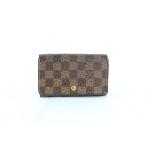 Louis Vuitton Damier Ebene Snap Wallet 859LZ