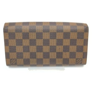 Louis Vuitton Damir Ebene Portefeuille Roseberry Wallet Long Flap 862350