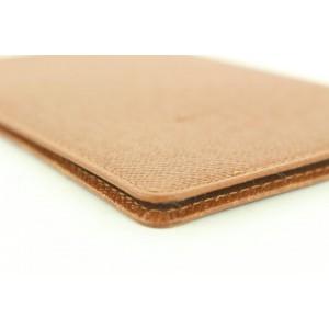 Louis Vuitton Brown ID Card Holder Wallet Case 34lvs115