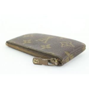 Louis Vuitton Monogram Pochette Cles Key Pouch 857622
