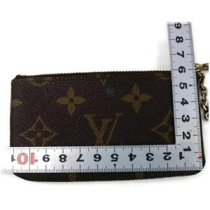 Louis Vuitton Monogram Key Pouch Pochette Cles Keychain 861222