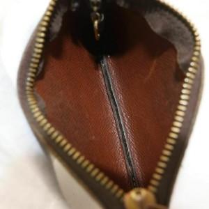Louis Vuitton Monogram Key Pouch Keychain Pochette Cles 861196