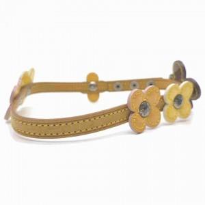 Louis Vuitton Wrap Bracelet or Choker Flower Lexington Vernis Fleur 860340